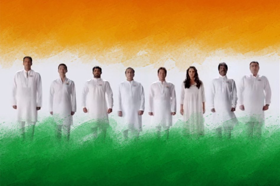 Watch - Indian Sports Heroes Singing The National Anthem For A Cause