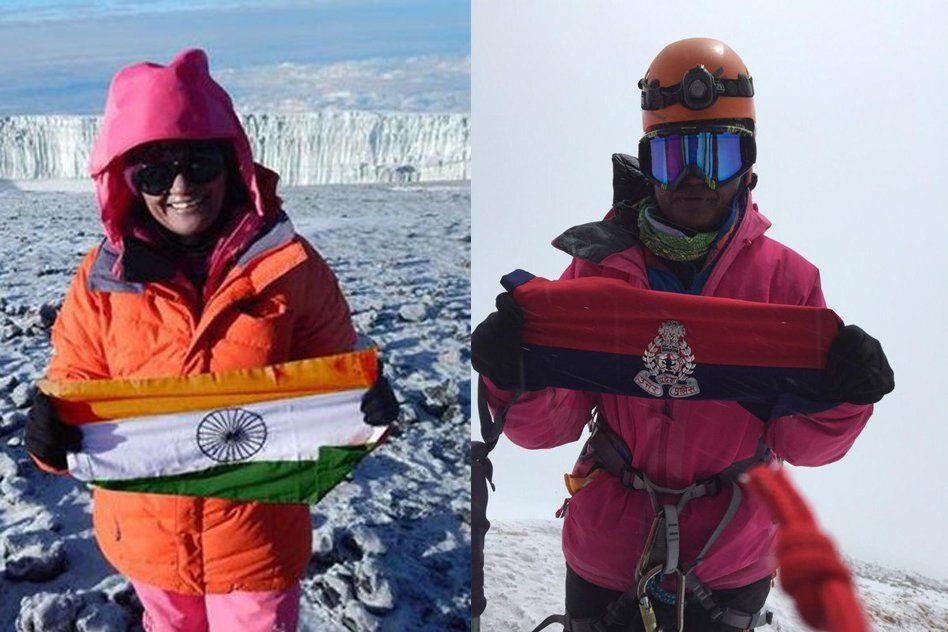 Aparna Kumar, IPS Officer From UP Climbs The Tallest Peak In Antarctica