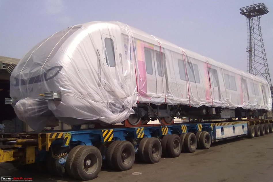 Government Ships Made In India Metro Coaches To Australia