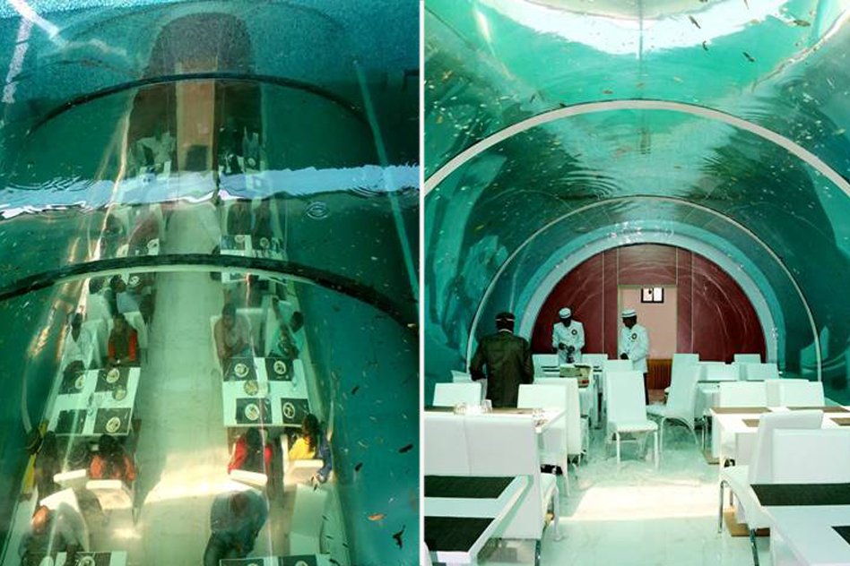 Video: India Gets Its First Underwater Restaurant