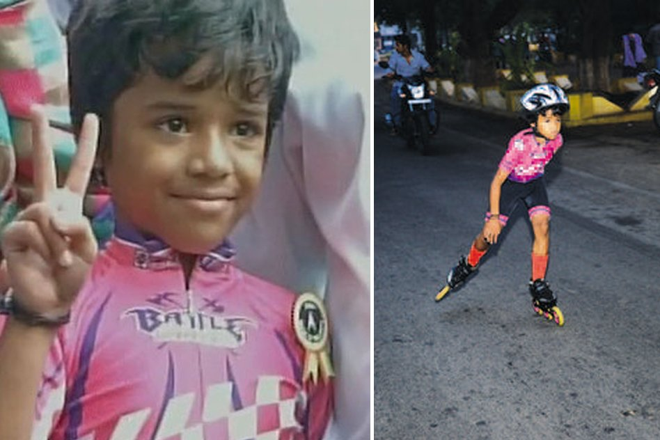 Six-Year-Old Girl From Coimbatore Sets New Record In Speed Skating