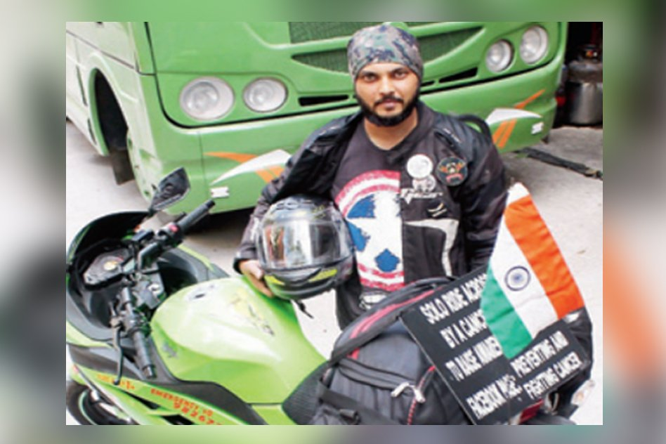 A Ride Of Hope: Cancer Survivor Spreads Message Of Hope On Wheels