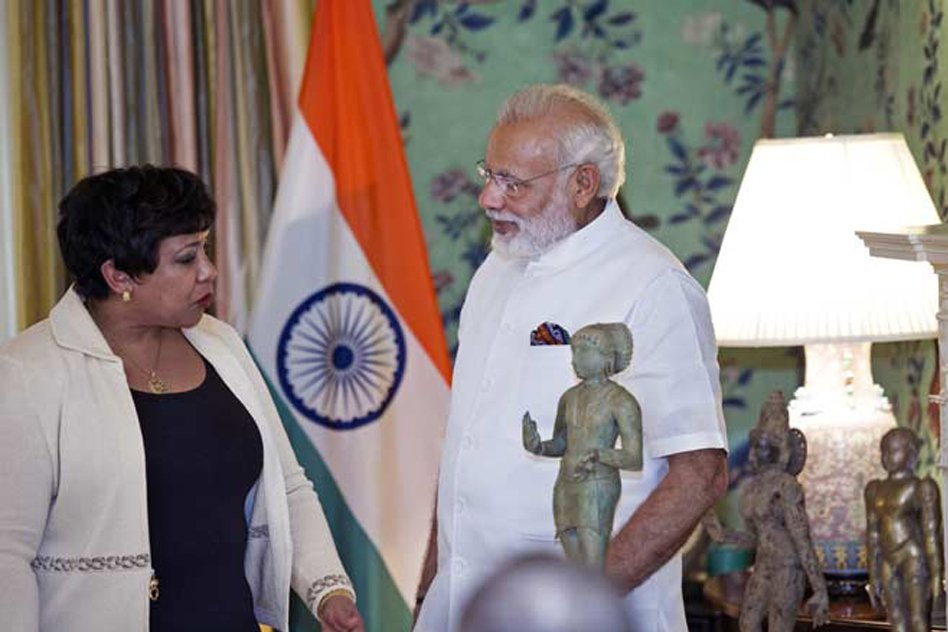 In A Ceremony Attended By PM Modi, US Govt. Returns Artefacts Worth $100 Million