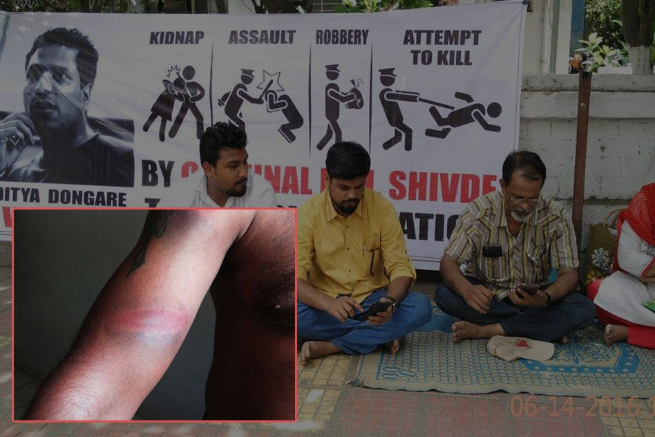 Police Allegedly Beats Innocent, Family Sits For Dharna To Register FIR Against Sub-Inspector