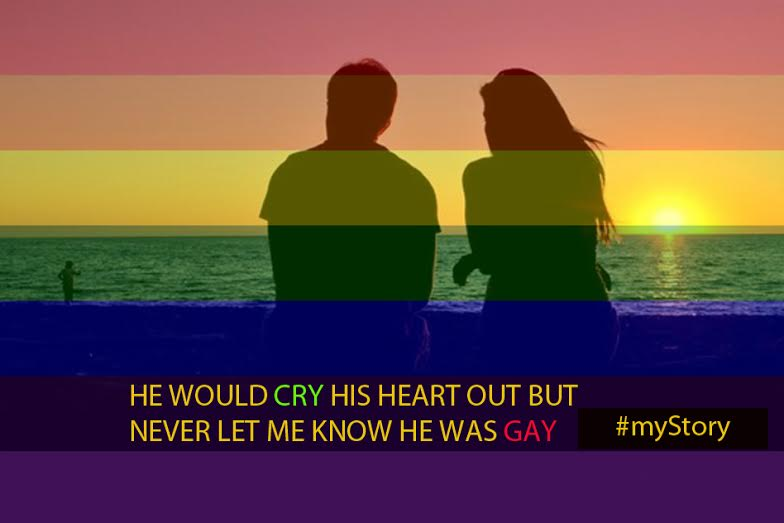 My Story: He Would Cry His Heart Out But Never Let Me Know He Was Gay