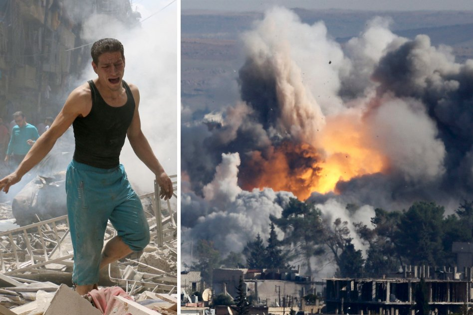 Over 85 Civilians Including Children Killed In US Air Strike In Syria