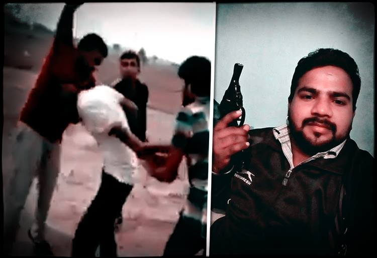 [Video] Lunatic Self-Proclaimed 'Gau Rakshaks' Mercilessly Beat A Man For Allegedly Carrying Cow Meat