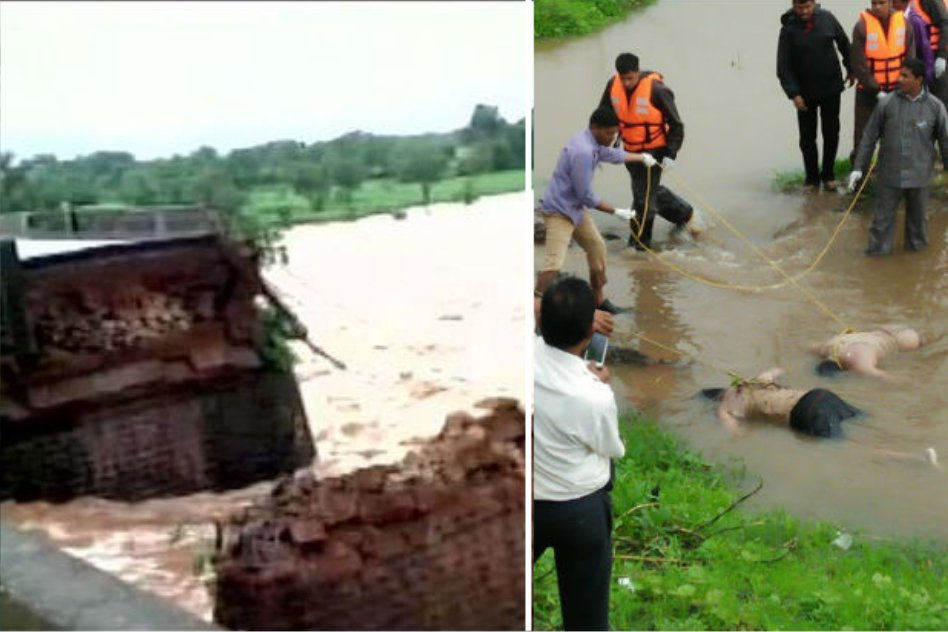 Bridge On Mumbai-Goa Highway Collapses; 22 People And 2 Buses Missing