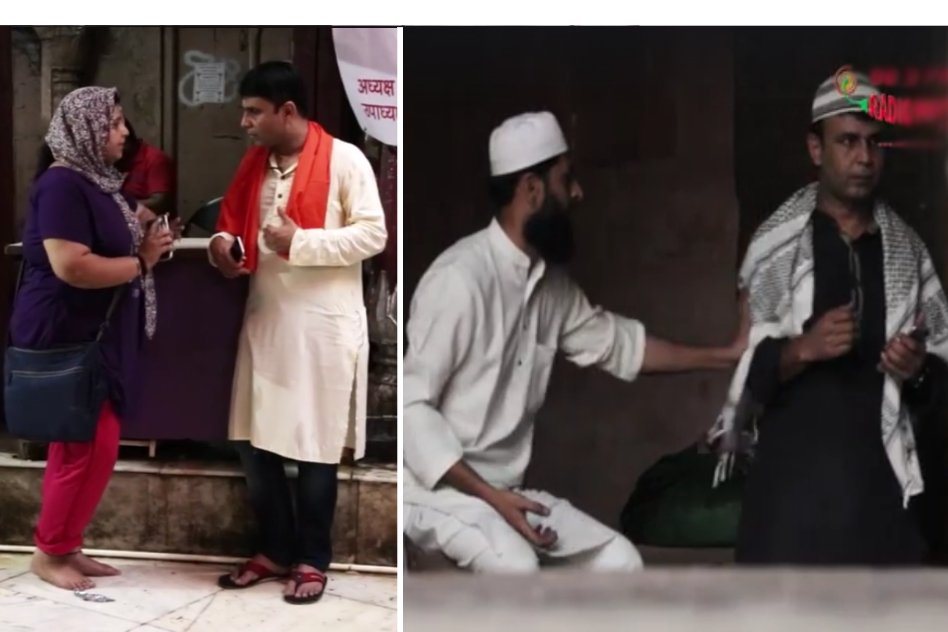 Social Experiment: A Sincere Response From Indians When RJ Naved Tried To Spread Hatred Against Particular Communities
