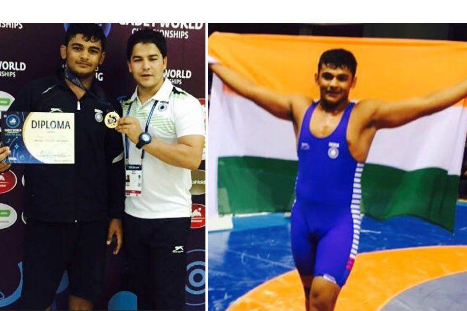 Milkman's Son From Haryana Wins Gold At World Cadet Wrestling Championships