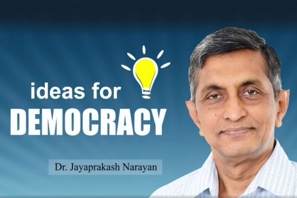 The Government Should Show The Political Will And Strike Hard On Corruption: Dr Jayaprakash Narayan