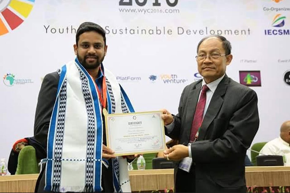 The Man Who Planted 40 Lakh Trees Awarded World Youth Prize Award-2016