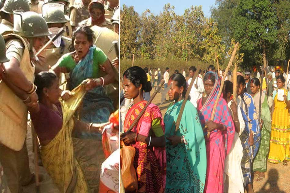 Karnataka Government Strongly Criticised After Group Of Tribal Women Carried Out Nude Protest