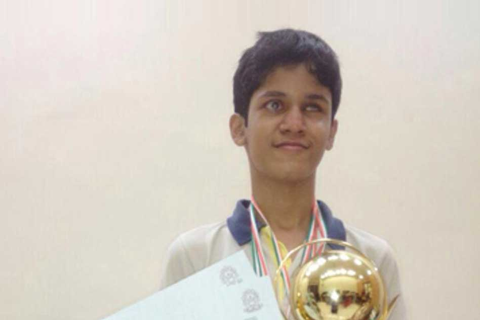 Visual Impairment Is Not A Barrier For This 15-Year-Old Robotics Olympiad Winner