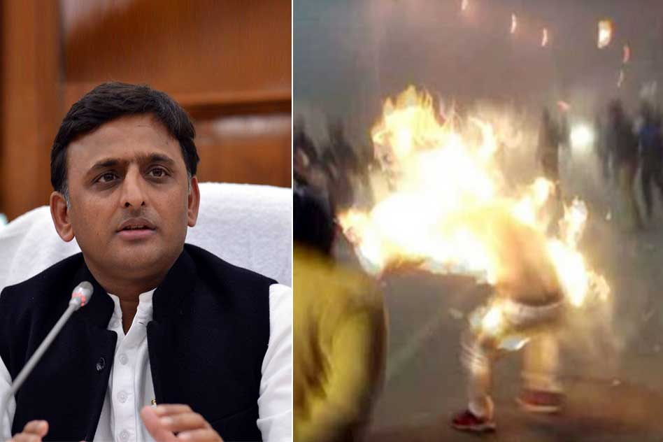 Student Leader Set Himself On Fire For Akhilesh Yadav: Why Such Hero Worshiping Is Bad For The Country