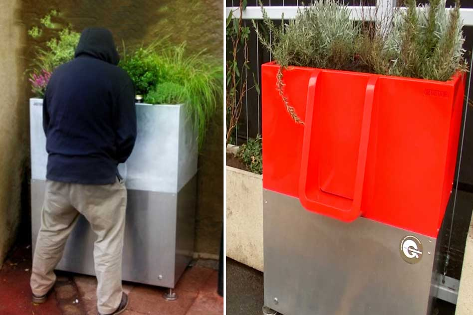To Deal With The Menace Of Street Peeing, Paris Citizens Experiment With Eco-Friendly Urinals