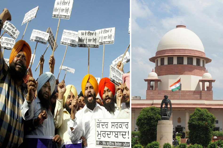 SC Asks Central Govt. To Submit The 199 Cases Files Related To 1984 Anti-Sikh Riots Case