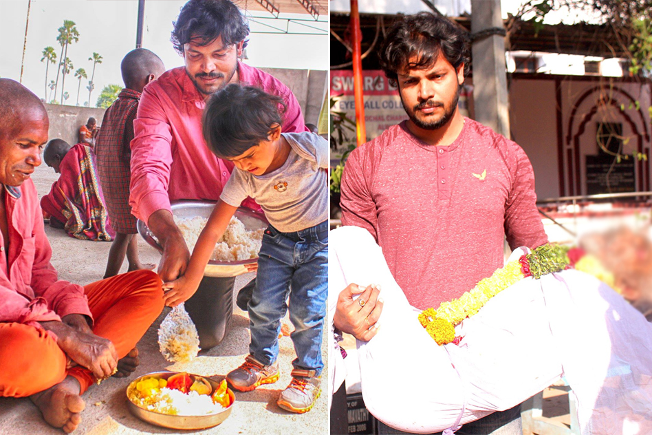 For Those Who Have No One, This 31-Yr-Old From Hyderabad Performs Their