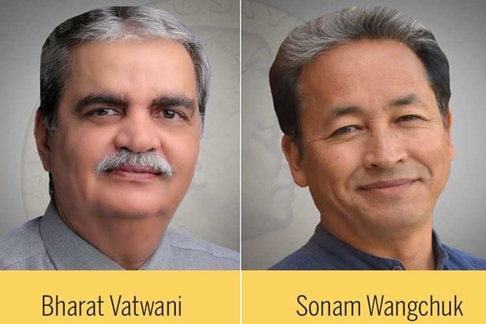 Psychiatrist Bharat Vatwani & Ice-Stupa Man Sonam Wangchuk Win Magsaysay Award