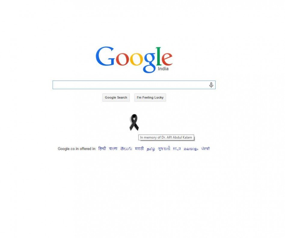 Google Pays Homage to APJ Abdul Kalam in Most Special Way