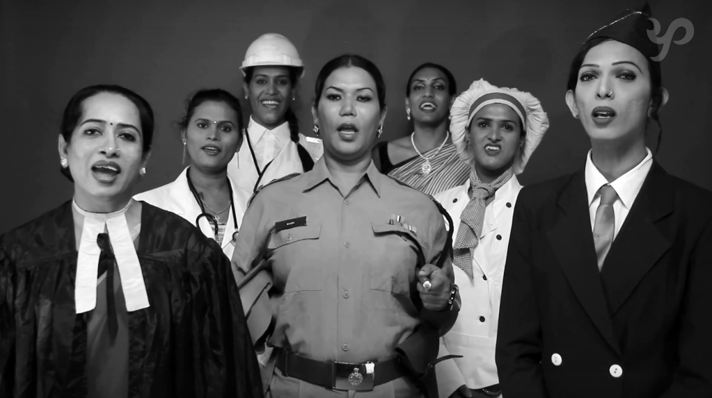"These Transgenders Singing ""Jana Gana Mana"" Leaves Behind A Strong Question"