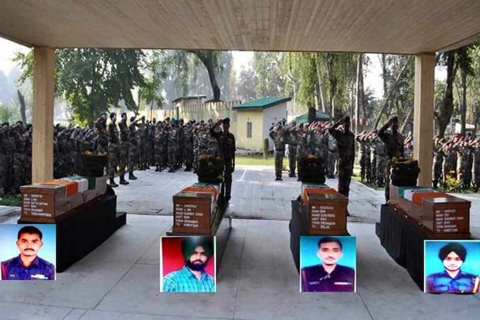 J&K: 4 Army Jawans Killed In Handwara Encounter