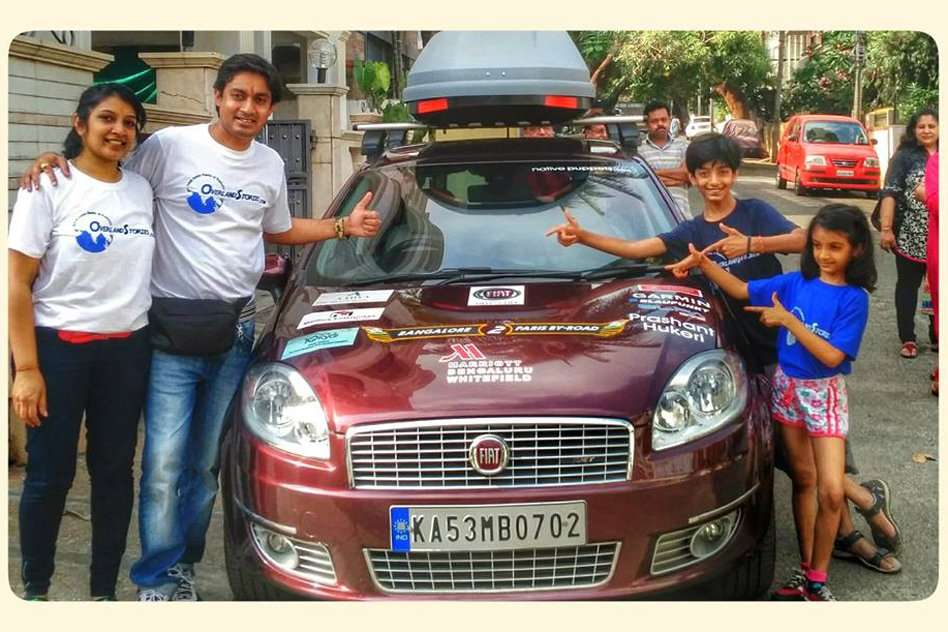 From Bengaluru To Paris In Car: 111 Days, 11 Countries, 1 Family