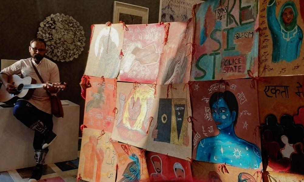 Delhi Police, Art Fair Object To Mural Promoting Religious Harmony