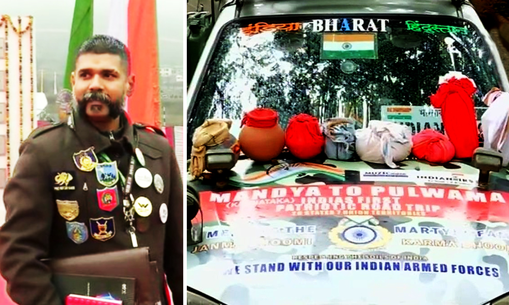 This Man Travelled Across Country To Visit Families Of Pulwama Martyrs For Unusual Tribute