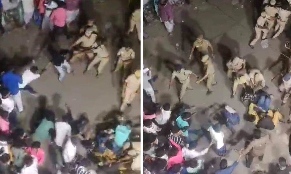 Anti-CAA Protests In Chennai Take Violent Turn, Police Condemned For Brutality