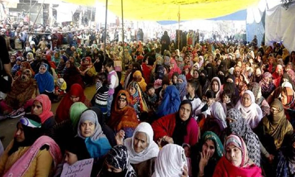 Delhis Jaffrabad Witnesses Shaheen Bagh Like Protest Where Over 1,000 Women Stage Sit-In Against CAA