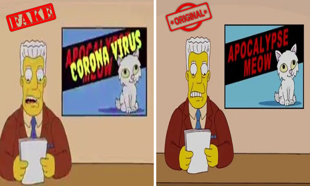 Fact Check: Did The Simpsons Writers Predict The Coronavirus Outbreak 27 Years Ago?