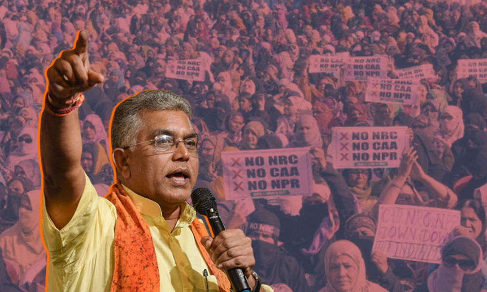 Bengal Women Are Being Drugged To Protest, Will Become Victims Of Violence: BJP Leader Dilip Ghosh