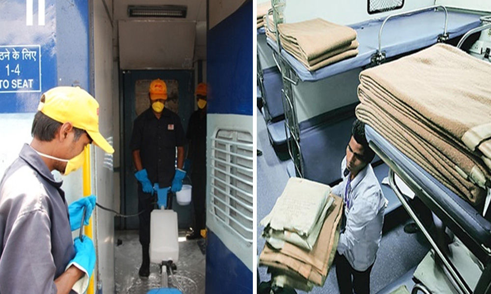 Coronavirus Outbreak: Indian Railways Admit To Not Cleaning Blankets Regularly, Ask Passengers To Bring Their Own