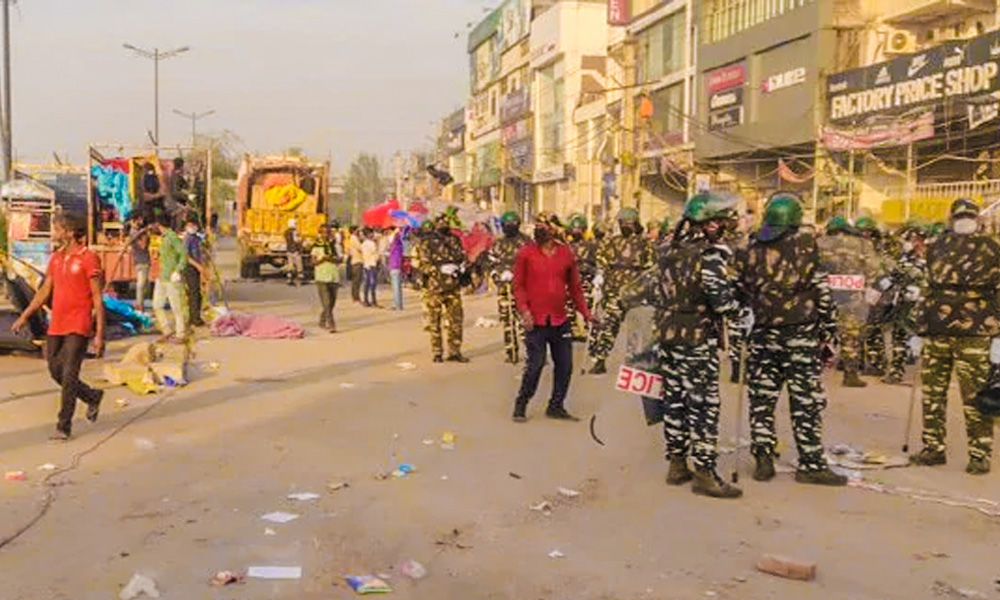 Shaheen Bagh Protesters In Delhi Removed Amid Nationwide Lockdown Due To COVID-19 Pandemic