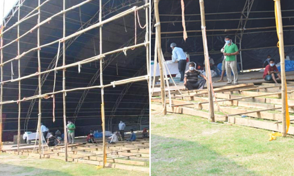 Stadiums Converted Into Isolation Wards As India Steps Up Fights Against COVID-19