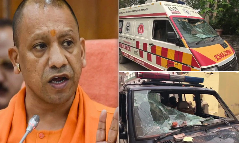 COVID-19: Stones Pelted At Duty Doctors, Cops In Moradabad, CM Yogi Invokes NSA