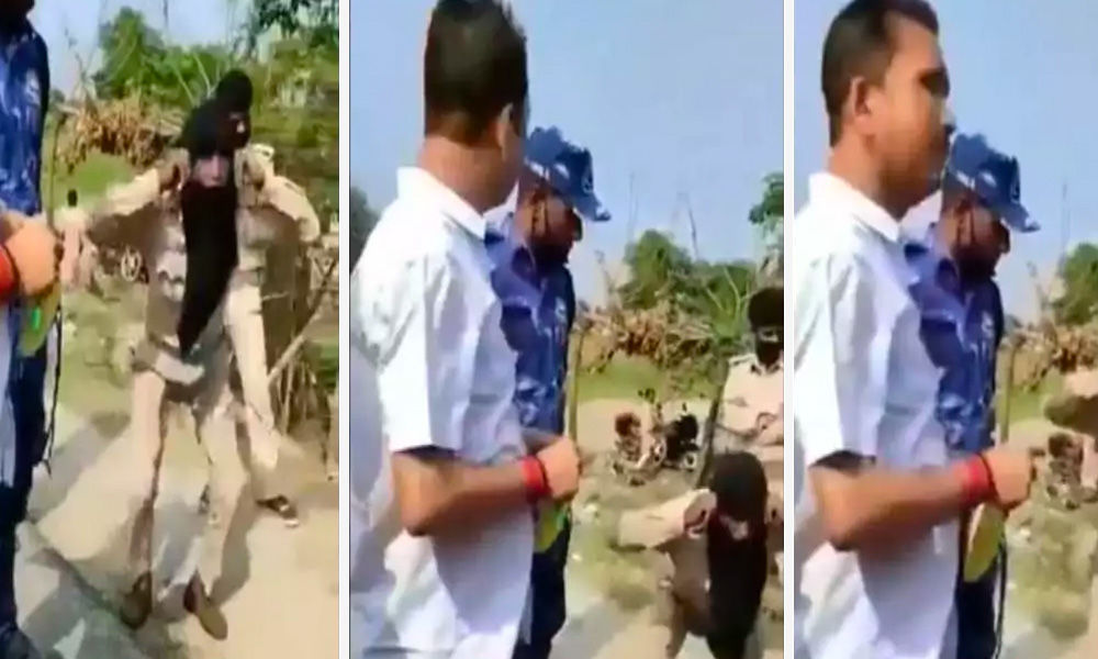 [Watch] Bihar Home Guard Punished For Asking For Lockdown Pass From Agricultural Officer