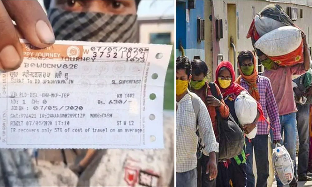 Fact Check: Who Is Paying For Migrants Train Tickets To Return To Their Homes?