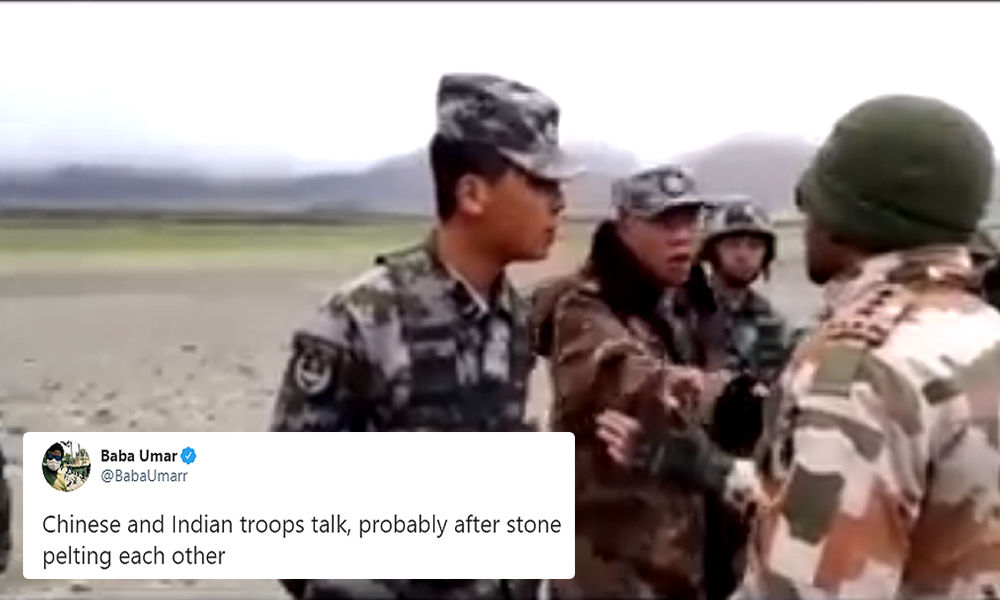Fact Check: Old Video Of Argument Between Indian & Chinese Soldiers Shared As Recent Clash At Indo-China Border