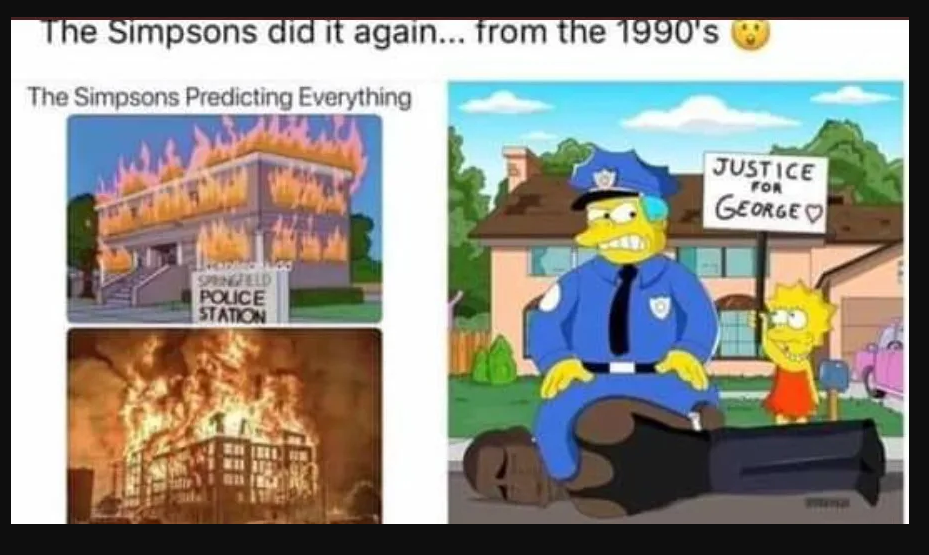 Fact Check No The Simpson Did Not Predict George Floyd S Death Back In The 1990s