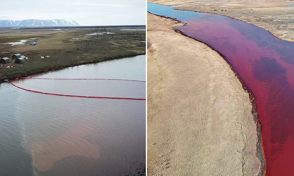 Russia Declares State Emergency After 20,000 Tonnes Fuel Spill In Arctic Circle