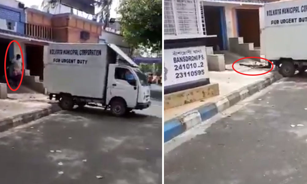 Civic Workers Dragging, Dumping Dead Bodies Of COVID-19 Patients Sparks Outrage In Bengal; Governor Seeks Report