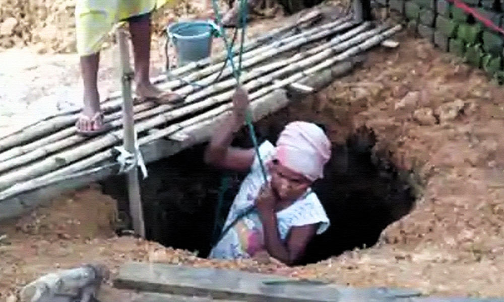Woman Digs 15-Feet Well To Help Her Ailing Mother Get Access To Water