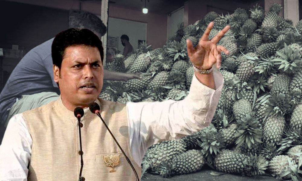 COVID-19: Now Free Pineapple, Lemon Juice In Tripura To Boost Immunity