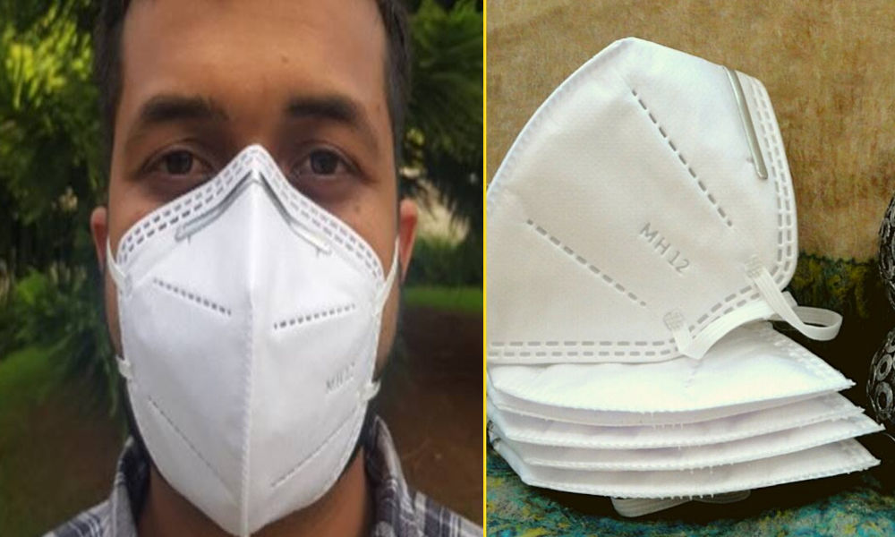 MH12: Pune-Based Lab Makes Its Own N95 Masks, To Distribute To Frontline Workers For Free