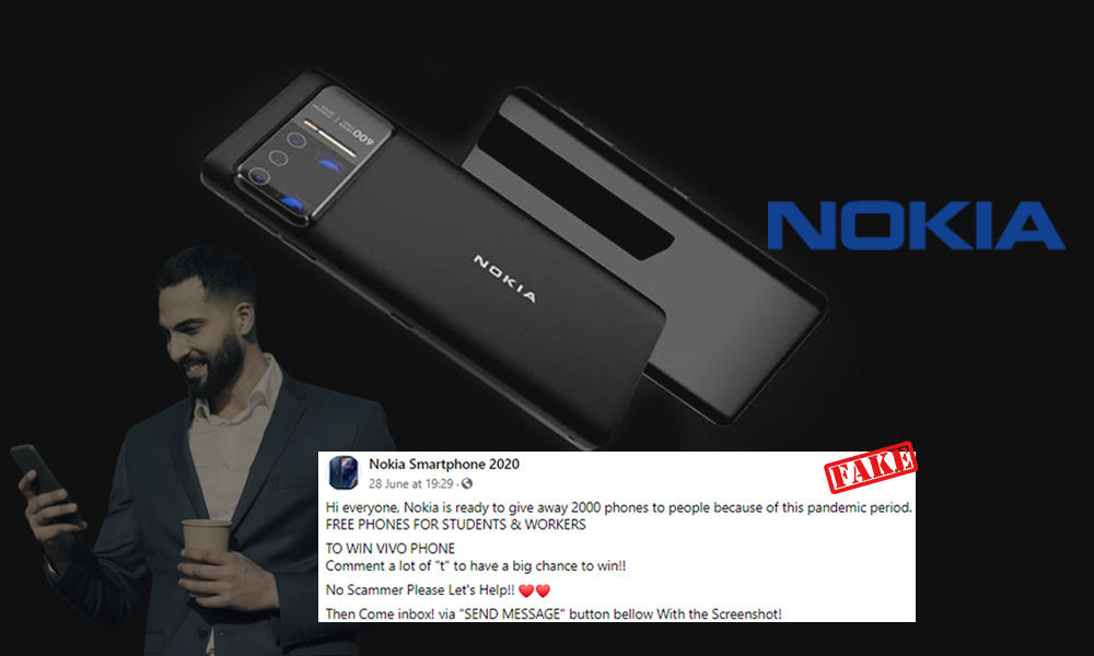 Fact Check: Is Nokia Giving Free Smartphones Amid COVID-19 Crisis?
