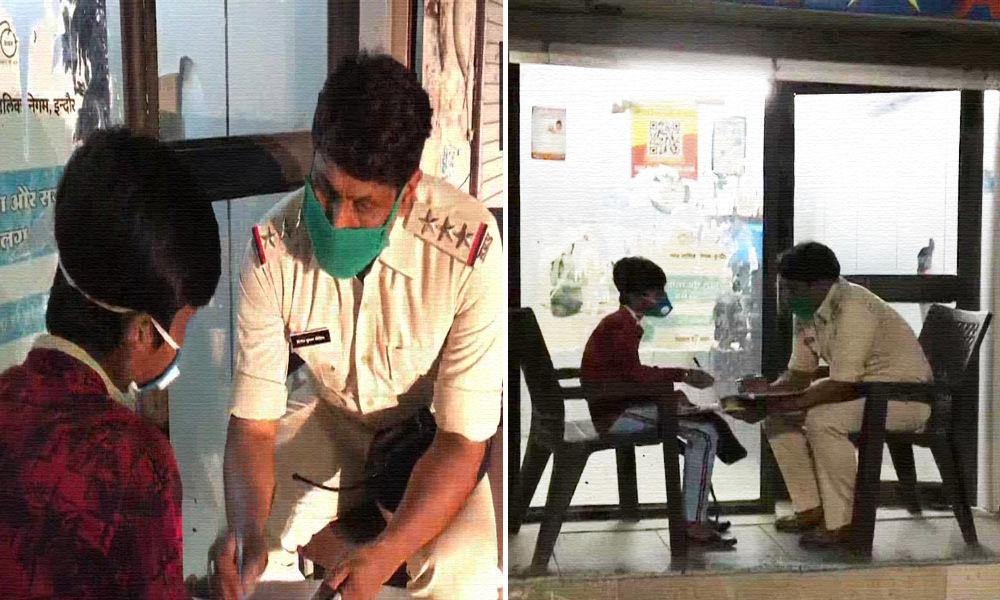 Madhya Pradesh: Indore Cop Turns Teacher For Underprivileged Boy Aspiring To Join Police Force