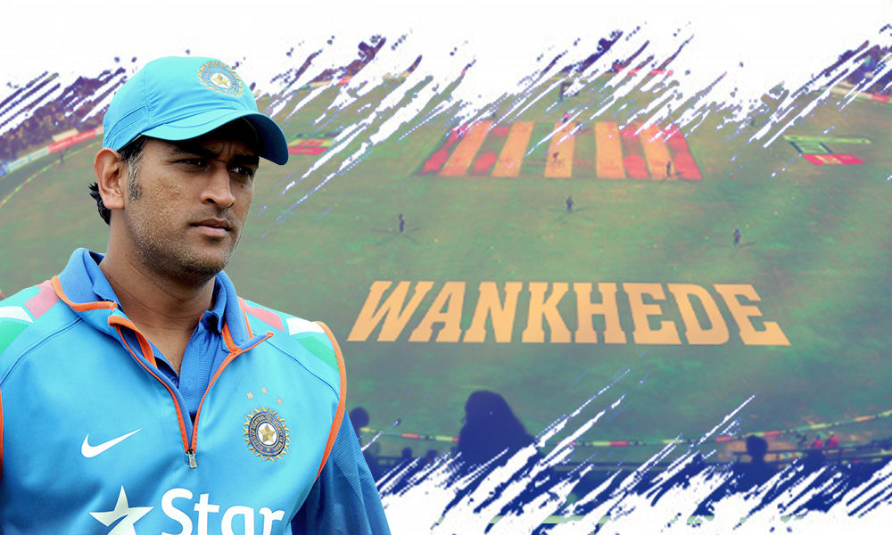 MS Dhoni May Get A Permanent Seat At Wankhede Stadium Where His 2011 World Cup Six Landed