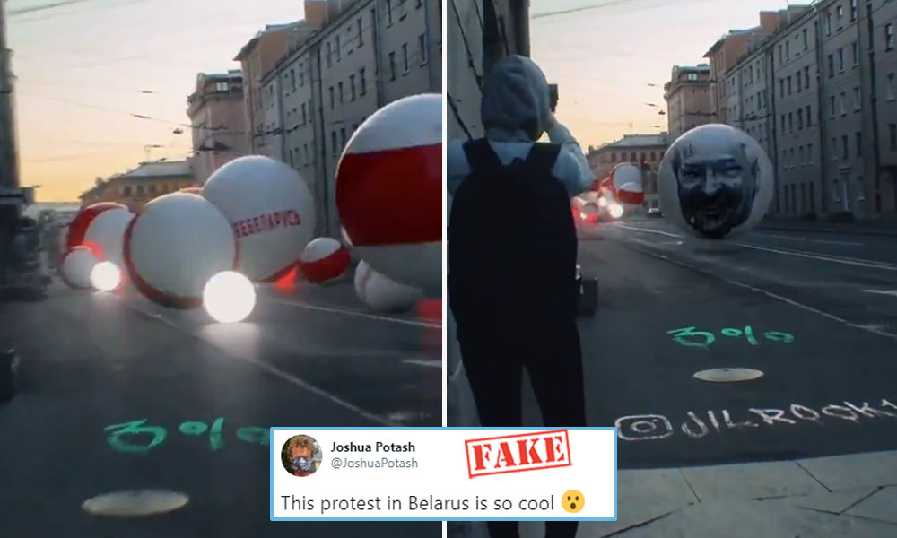 Fact Check: VFX Video Shared As Glimpse Of Recent Protests In Belarus